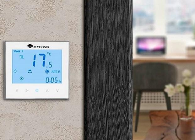 Комнатный современный цифровой термостат для отопления  Mycond