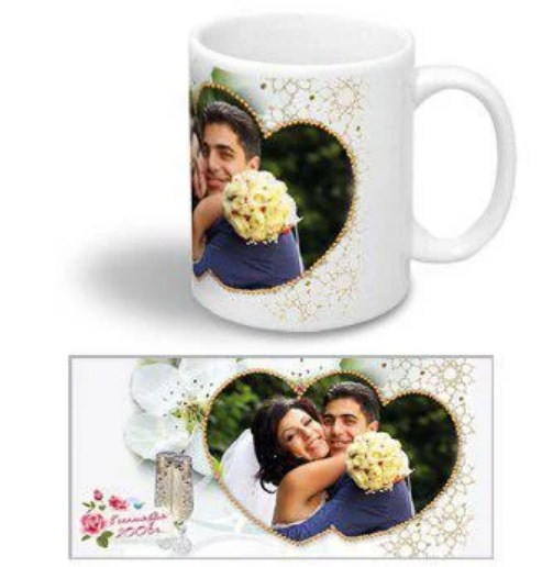 свадьбы кружка с фото
