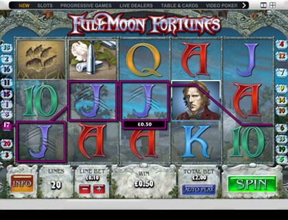 Full Moon Fortunes Онлайн Автомат