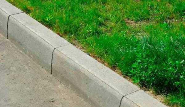 Сферы применения дорожного бордюра