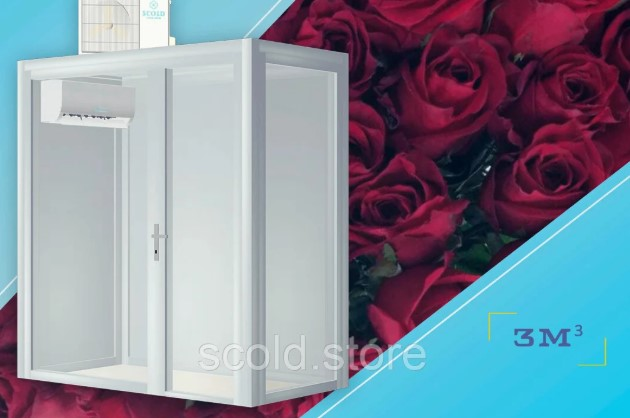 """Холодильна вітрина для квітів """"Фрідом"""""""