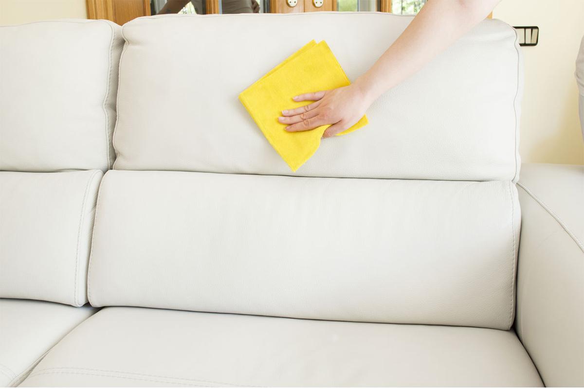 Как правильно чистить диван