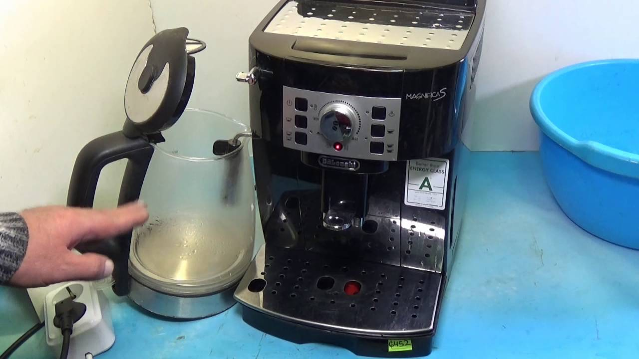 Как ухаживать за кофемашиной делонги