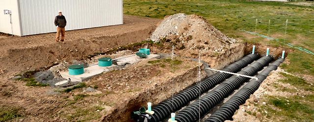 Виды сточных вод и способы установки канализации