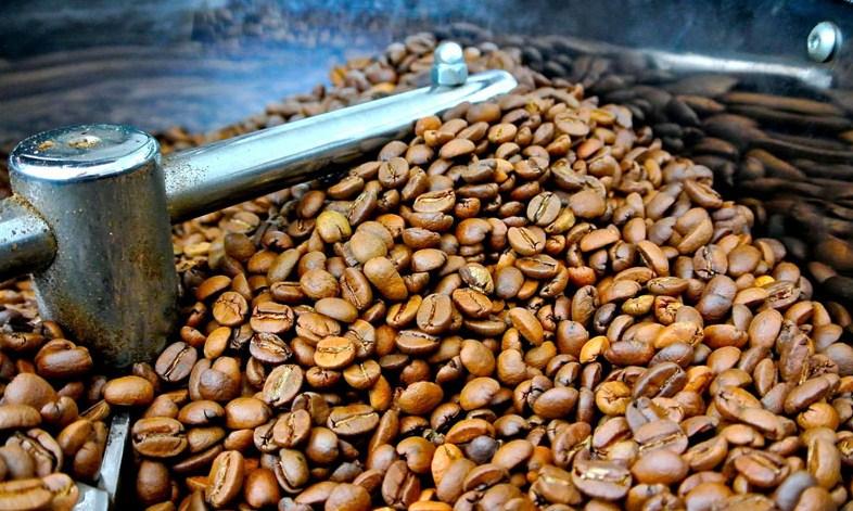 традиционное барабанное обжаривание кофе