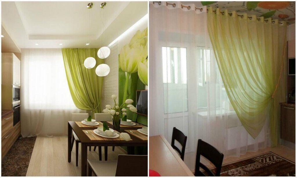 шторы и тюли на окнах