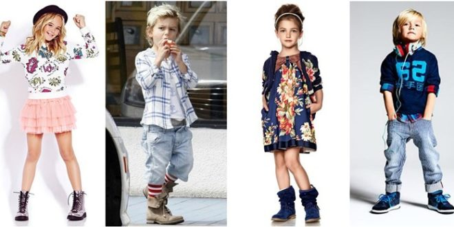 Детская мода на сезон осень 2020 года