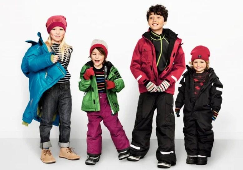 Какие бывают детские куртки?