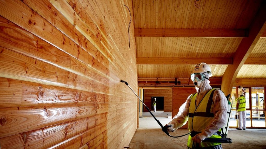 Огнезащиты деревянных конструкций