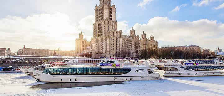 Зимние круизы на теплоходе по Москве-реке