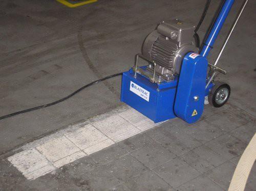 фрезеровальной машины по бетону как работает