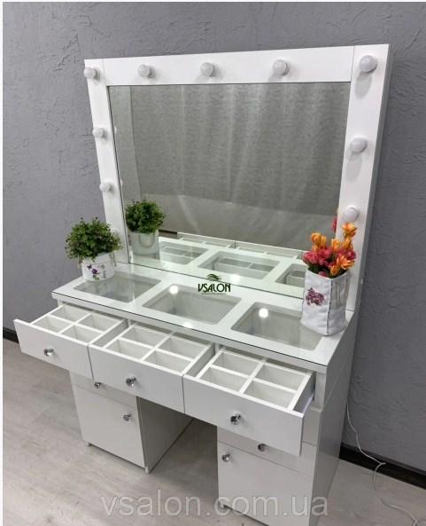 Стол визажиста с зеркалом и подсветкой V404 7540грн.