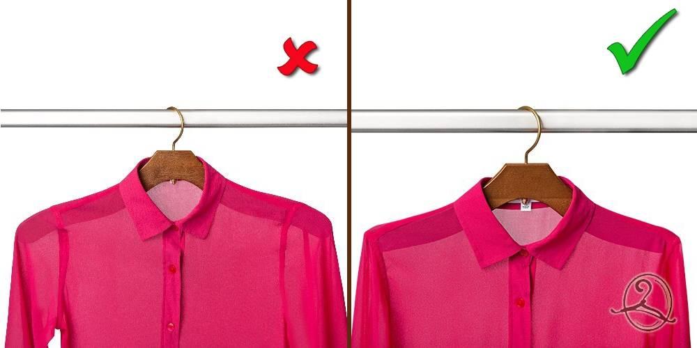 Как правильно выбрать вешалку для одежды