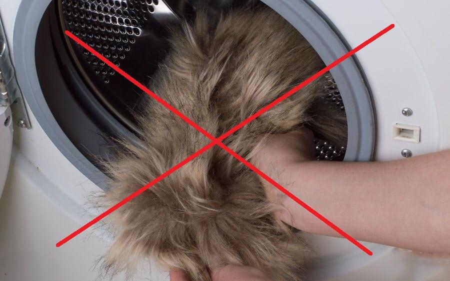 можно ли стирать натуральный мех в стиральной машине