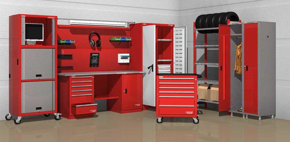 Специализированная металлическая мебель и ее использование