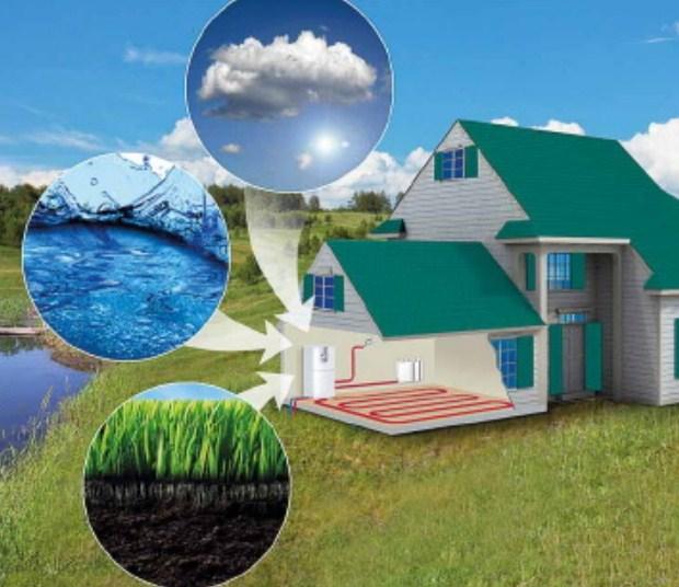 Выбор теплового насоса воздух-вода