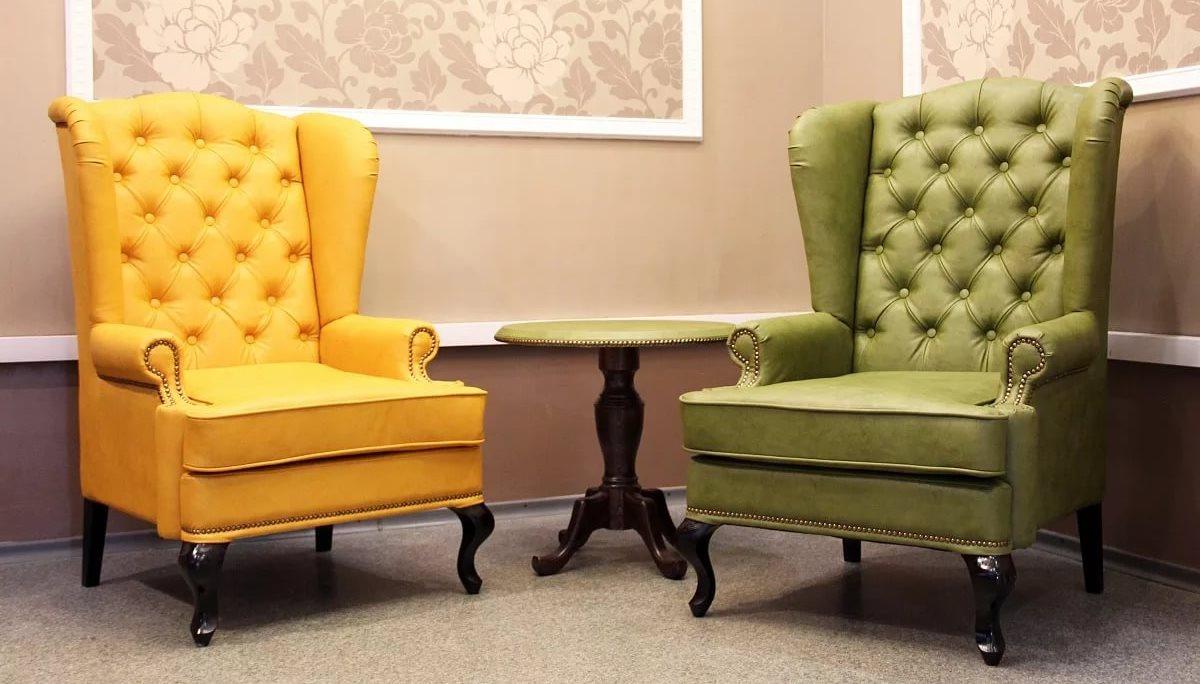 Кресла в английском стиле