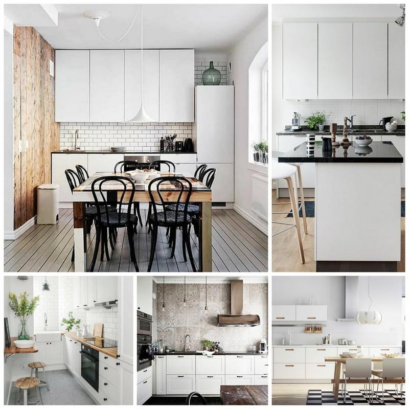 Кухня в современном датском стиле