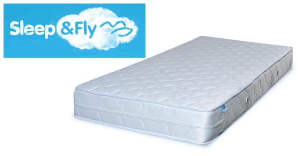 Ортопедические матрасы Sleep & Fly — практично и долговечно