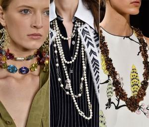 модные ожерелья и бусы