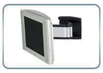 Поворотно-наклонный монтаж установка телевизора (поворот в горизонтальной, плюс наклон в вертикальной плоскости)
