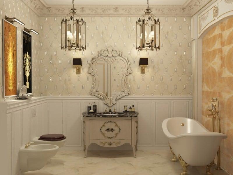 ванны в стиле ренессанс