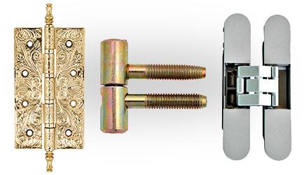 Дверные петли - применение, виды, петли с доводчиком