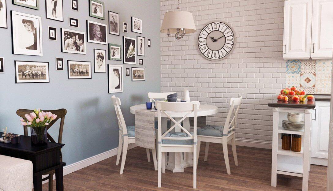 Чем можно оформить стены на кухне