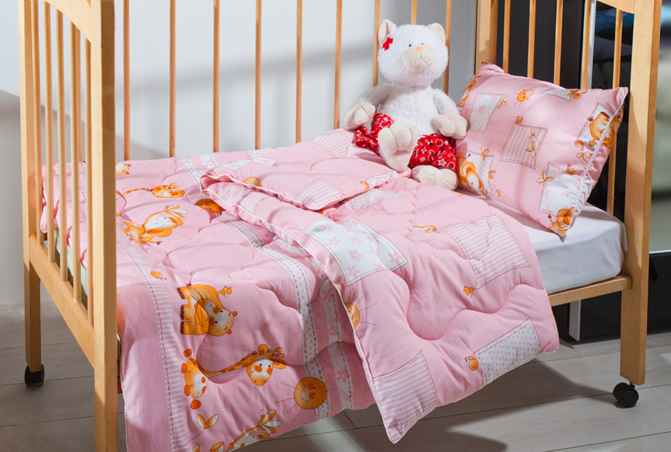 Как выбрать детское одеяло