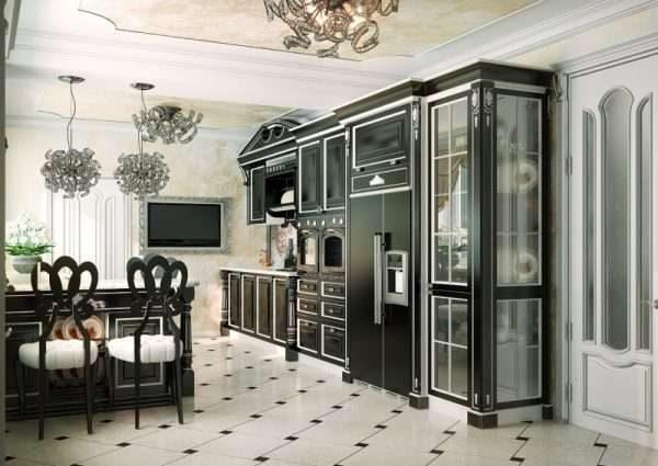 Кухня в стиле неоклассицизм